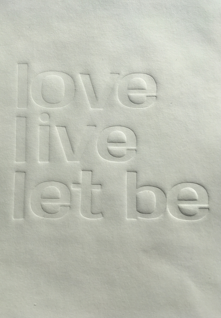 let be